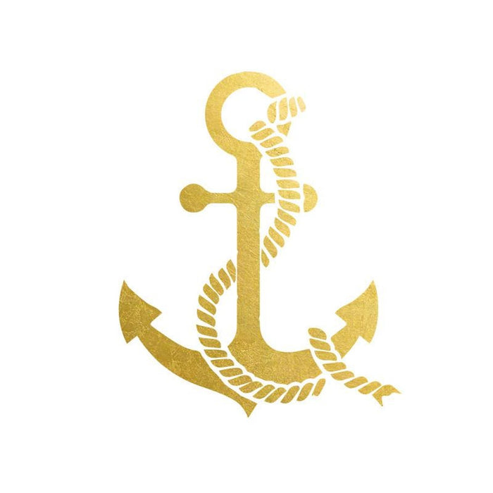 2 PACK Anchor Tattoo