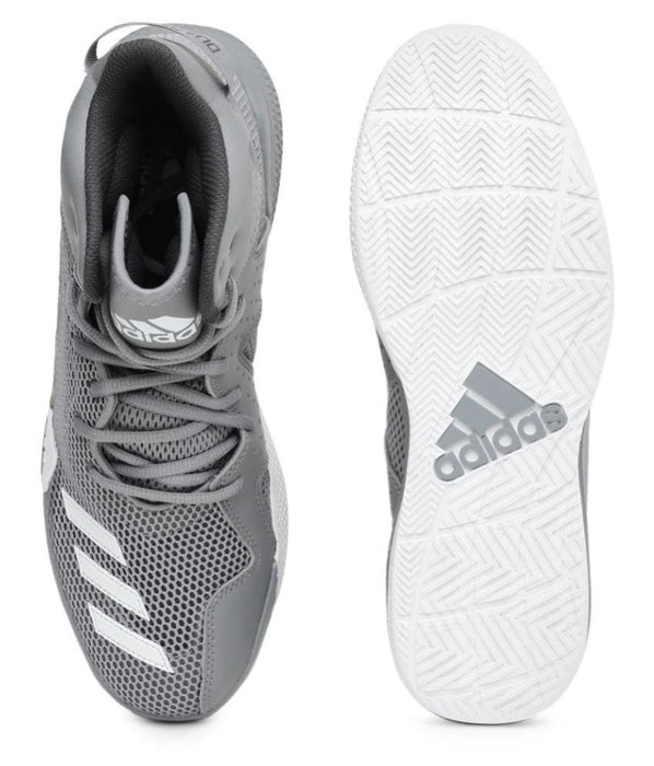 Adidas Men DT Gray Basketball Shoes