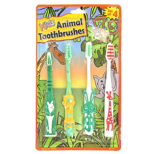 Kids Animal Toothbrushes ( Case of 72 )