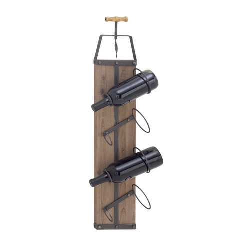 Winsome Wood Metal Wine Rack