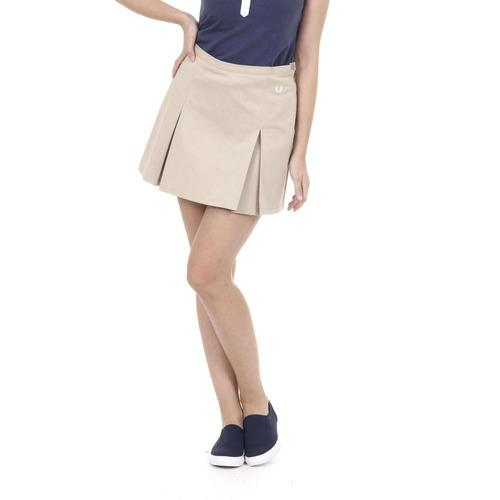 Beige 44 EUR - 8 US Fred Perry Womens Skirt 31512074 0242
