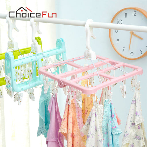CHOICE FUN Plastic Underwear Clothes Hanger Clothes Rack Clothes Hanger Rack Hook Trouser Rack Coat Hanger