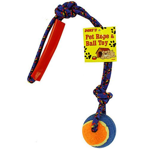 Pet rope with ball ( Case of 24 )