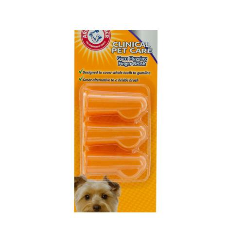 Arm & Hammer Finger Toothbrushes for Dogs ( Case of 24 )