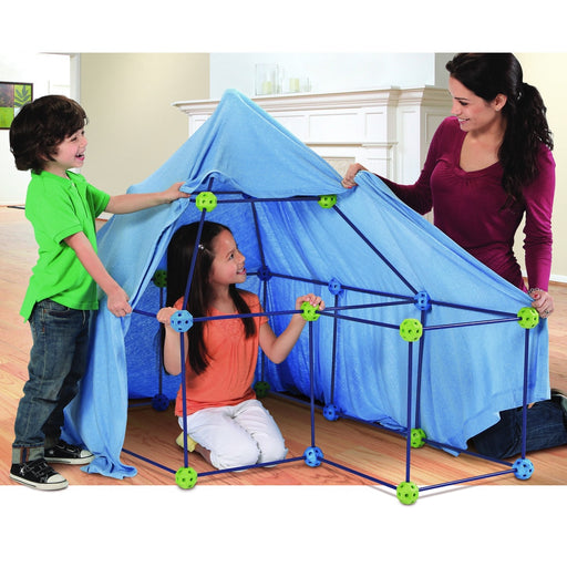 Discovery Kids 77-piece Build and Play Construction Fort Set - Toy Construction Forts Discovery Kids