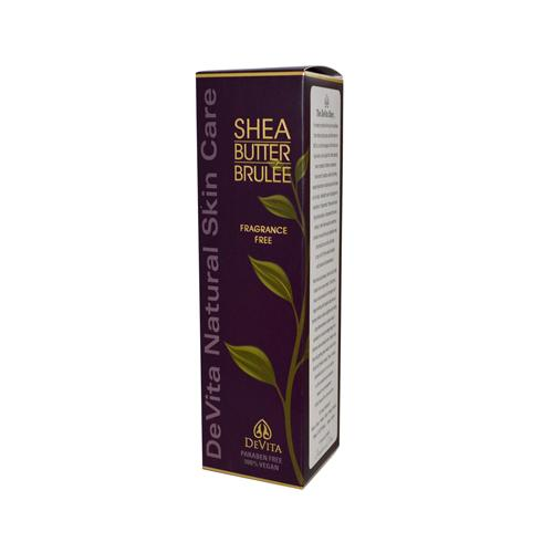 Devita Natural Skin Care Shea Butter Hand-Body Brulee Unscented (1x7 Oz)
