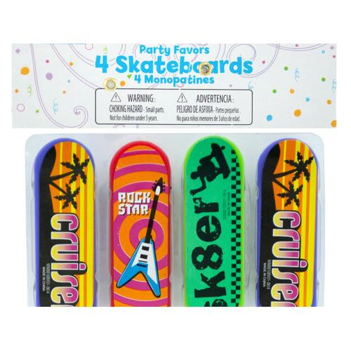 Mini Skateboards Party Favors ( Case of 108 )