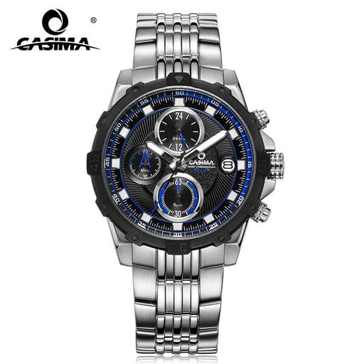 Fashion Luxury brand watches men Fashion casual charm chronograph cool sport mens quartz wrist watch waterproof 100mCASIMA 8306