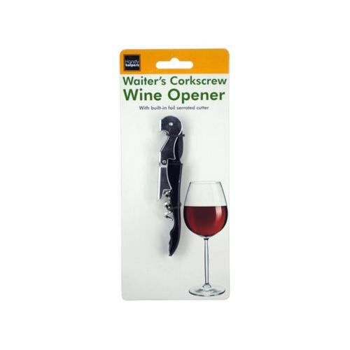 Waiter's Corkscrew Wine Opener ( Case of 60 )