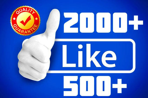 ✓ Super PACK FACEBOOK 1000 + FANS Fanpage ✓ 2000 + LIKES in 24 Hrs