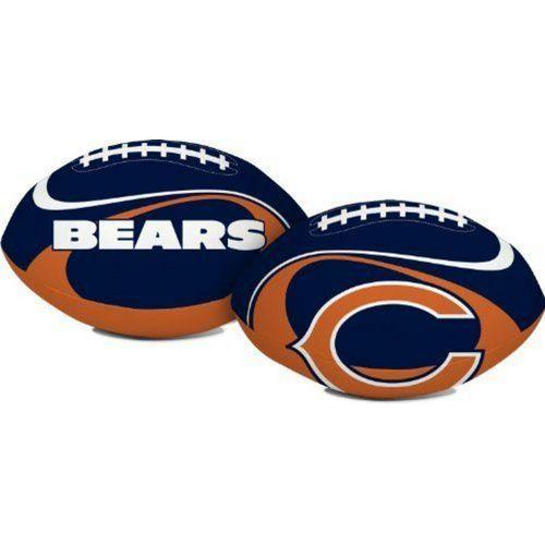 """Chicago Bears """"Goal Line"""" 8"""" Softee Football"""