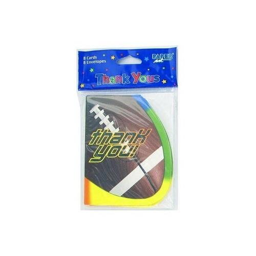 """Thank You"" football cards ( Case of 48 )"