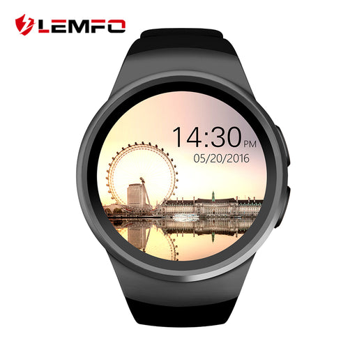 KW18 Smart Watch Bluetooth Inteligent Smartwatch Support SIM Heart Rate Monitor Clock