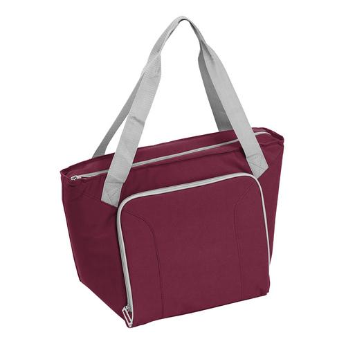 30 Can Cooler Tote (Maroon)