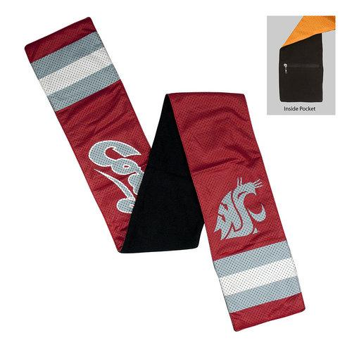 Washington State Cougars NCAA Jersey Scarf
