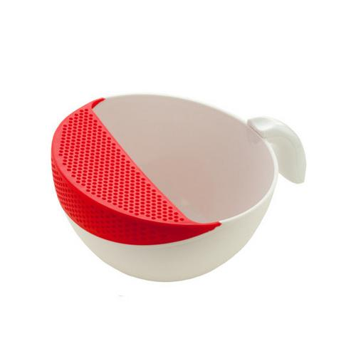 Rinsing Bowl with Colander and Handle ( Case of 12 )