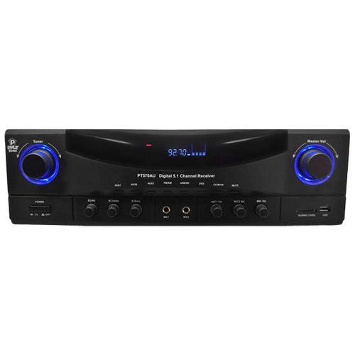 5.1 Channel Amplifier Receiver Digital Home Theater Stereo System, 350 Watt