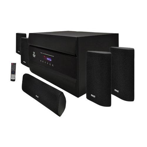 400-Watt 5.1 Channel Home Theater System with AM/FM Tuner, CD, DVD & MP3 Player Compatible