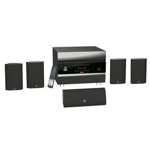 400 Watts 5.1 Channel HDMI Home Theater System With Bluetooth Audio Playback, AM/FM Tuner