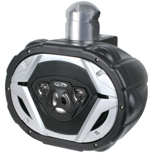 "Boss Audio 6"" X 9"" 550-watt 4-way Marine Wake Tower Speaker System (black)"