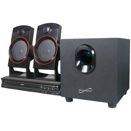 Supersonic 2.1-channel Dvd Home Theater System (pack of 1 Ea)