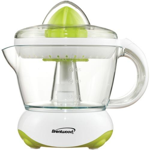 Brentwood White Citrus Squeezer And Juicer (pack of 1 Ea)