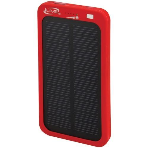 Ilive 2,100mah Solar Charger For Mobile Devices (pack of 1 Ea)