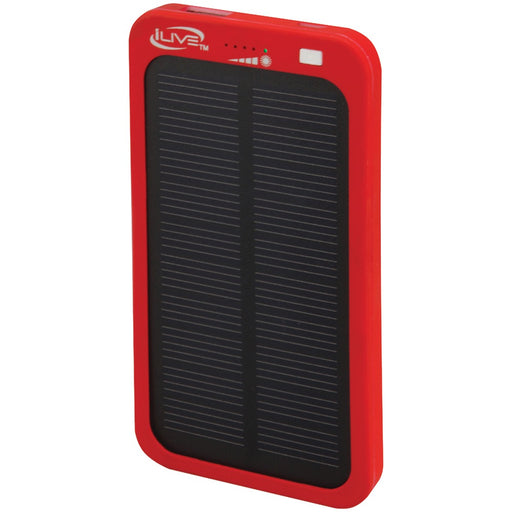 Ilive 2100mah Solar Charger For Mobile Devices