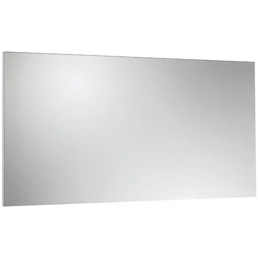 "Steelmaster 14"" X 30"" Magnetic Note Board Silver"
