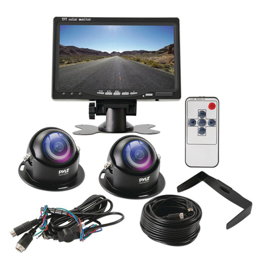 "Pyle 7"" Commercial-grade Monitor & Camera System"