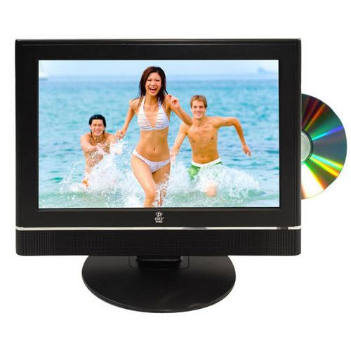 12 Volt RV/Car/Truck/Boat Plug-in 19'' Hi-Definition LCD TV w/Built-in DVD Player