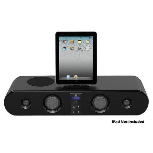 iPad/iPod/iPhone 300 Watt Sound Bar Docking System With FM Radio & Wireless Remote