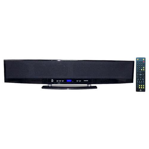 6-Way 300 Watt Multi-Source Wall Mount/Surface Sound Enhancement Bar w/USB, SD, HD, MP3, HDMI, FM Tuner