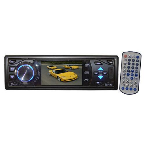 3'' TFT Fold Down Detachable Panel DVD/VCD/MP3/MP4/CDR/USB/SD Memory Card Slot AM/FM Receiver