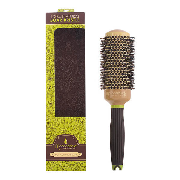 Macadamia - BRUSH boar hot curling 43 mm