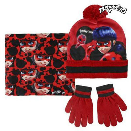 Hat, Gloves and Handkerchief Lady Bug 059