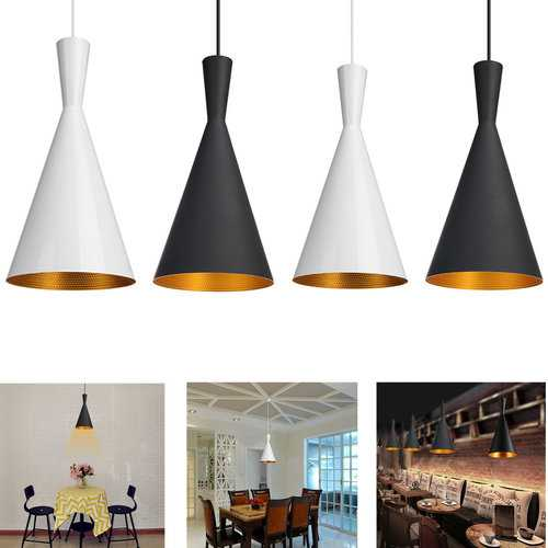 Modern Chandelier Metal Retro Style  Light Shade Lampshades Ceiling Pendant Decor