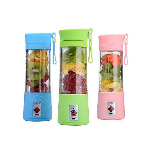380ml USB Electric Fruit Juicer Handheld Smoothie Maker Blender Rechargeable Fresh Juicer Portable Electrical Smoothie Maker Bottle Cup