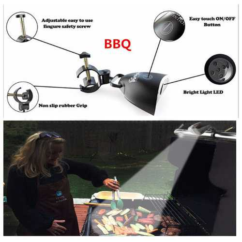 Barbecue Grill Light BBQ 10 Bright LED Lights with Handle