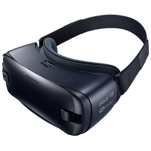FS Samsung Gear VR SM-R323NBKAXAR Virtual Reality Glasses - For Smartphone - AMOLED - Blue Black