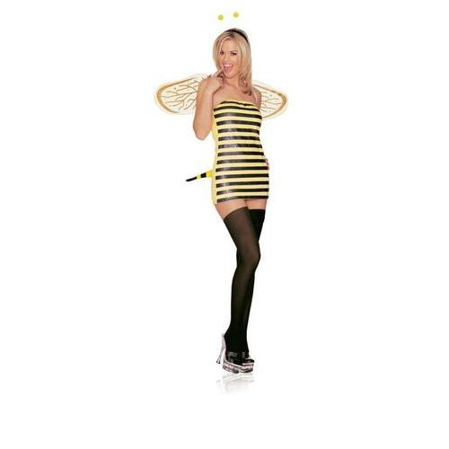 BEE SEXY COSTUME MEDIUM LARGE