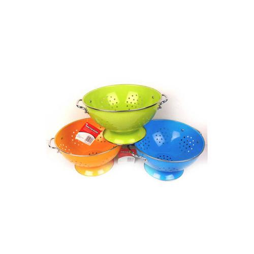 Metal fruit basket or colander ( Case of 2 )