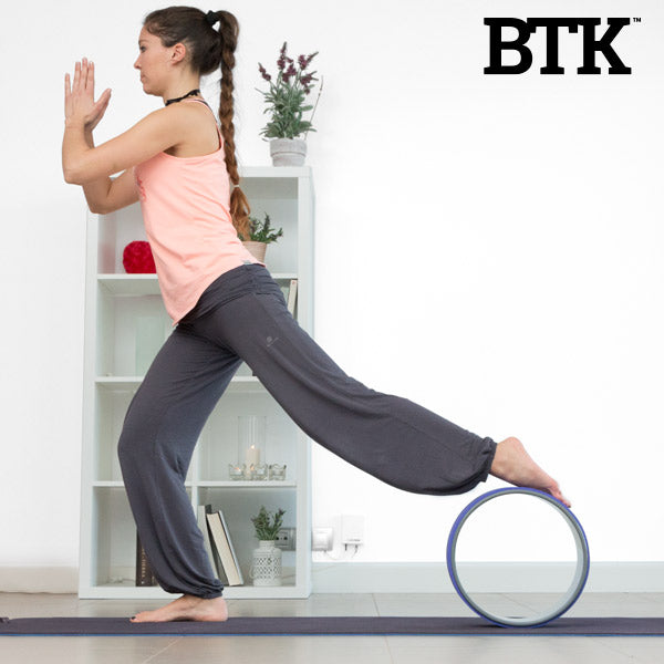 BTK Yoga and Pilates Wheel