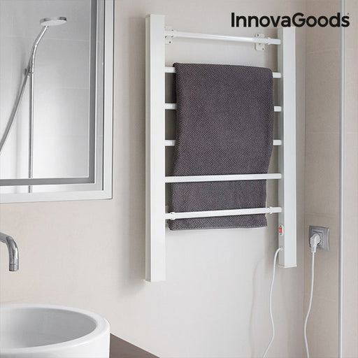 Electric Towel Rail InnovaGoods 90W White (6 Bars)