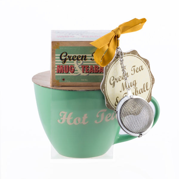 Bravissima Kitchen Mug with Accessories to Make Hot Drinks