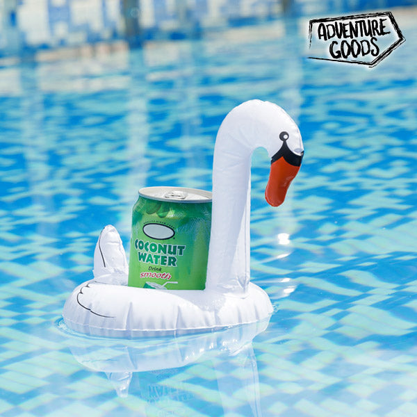 Adventure Goods Swan Inflatable Can Holder