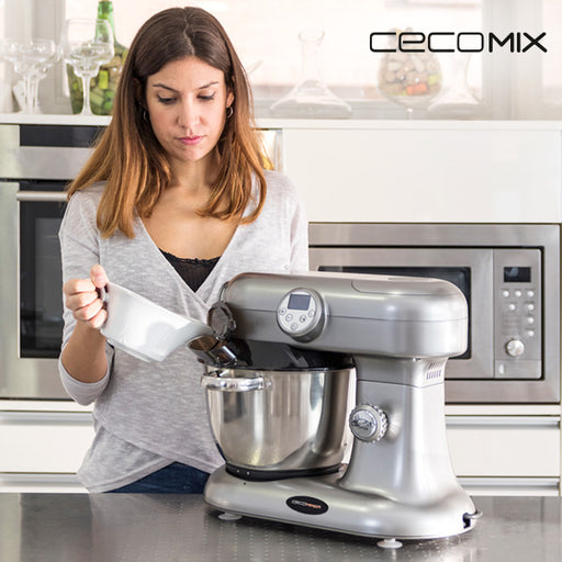 Cecomix 1000W Multifunctional Food Processor Grey