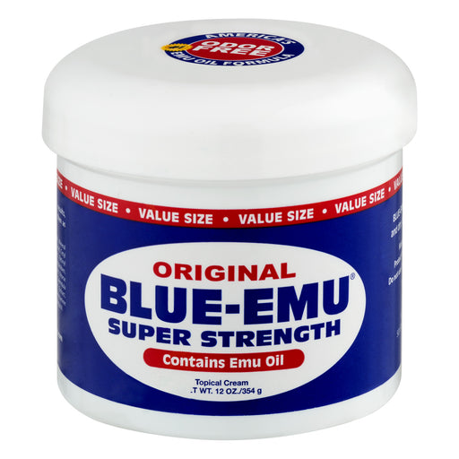Blue-Emu Super Strength Topical Cream, 12.0 OZ