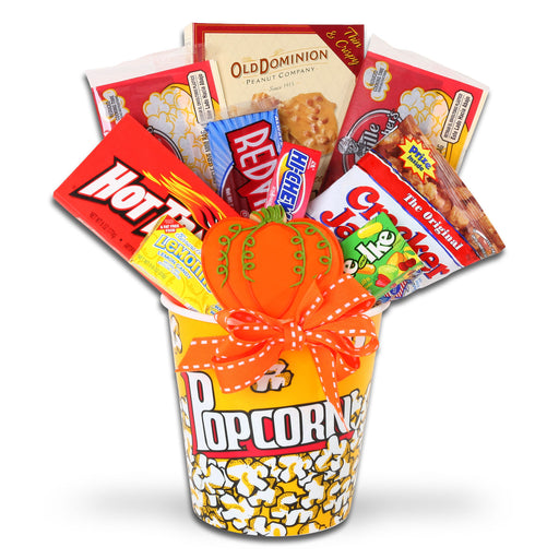 Alder Creek Fall Movie Night Halloween Gift Basket, 12 pc