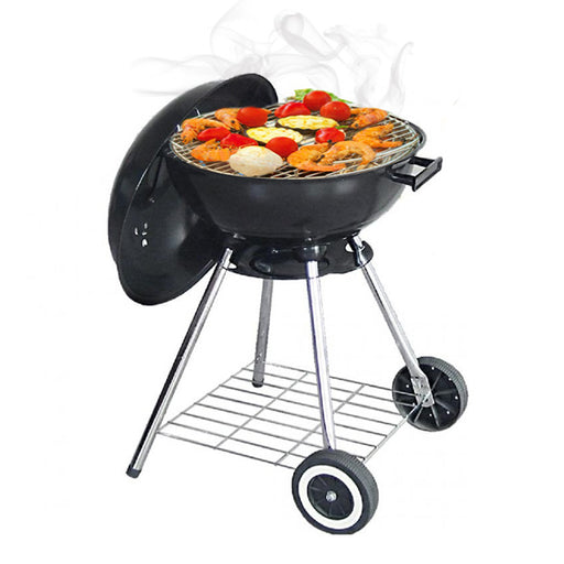 Wheeled Charcoal Barbecue